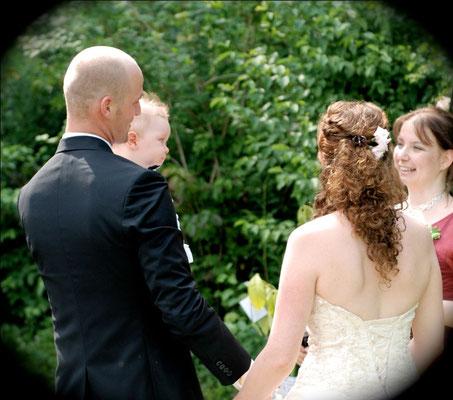 Hochzeit mit Baby...
