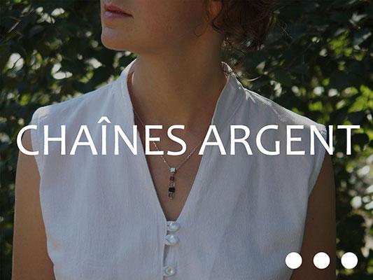 Chaînes Argent