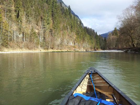 Ruhiger Verlauf kurz vor Schneitzlreuth