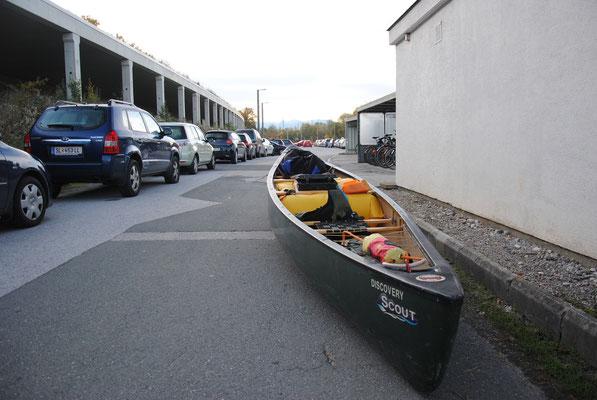 Parkmöglichkeit beim Lokalbahnhof Bergheim