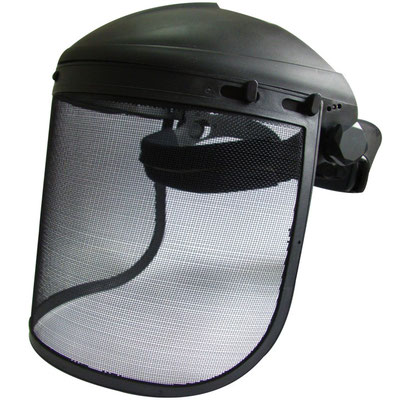 Model #201M Face Shield with Steel Mesh, CE EN1731 Standards