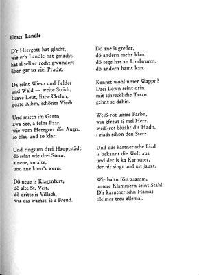 Unser Landle (Primus Lessiak)