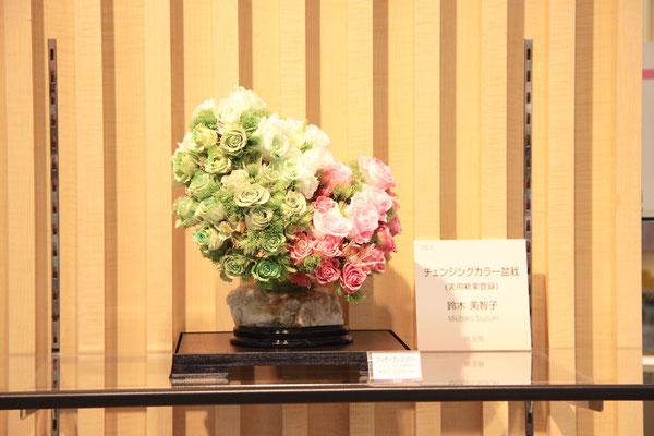 伊勢丹浦和店5階文具売り場にて、フロールエバーコンテスト入選作品販売