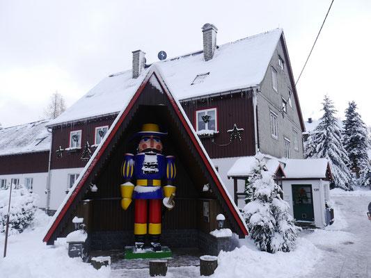 Nussknackerhaus Seiffen Foto J. Mohr