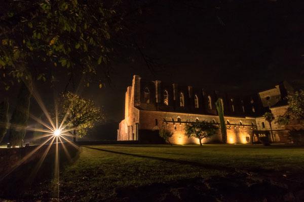 San Galgano bei Nacht