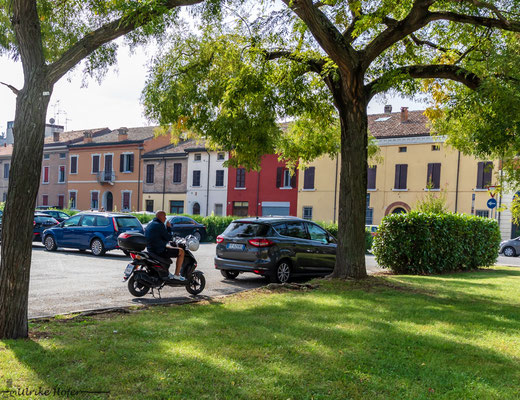Ravenna mit dem Roller
