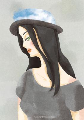 帽子と女の子:Hat and Girl