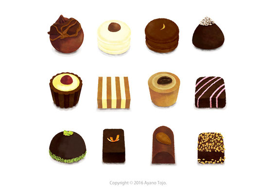 チョコレート:chocoate