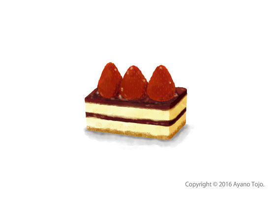 ストロベリームース:strawberry mousse