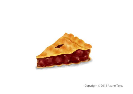 チェリーパイ:cherry pie