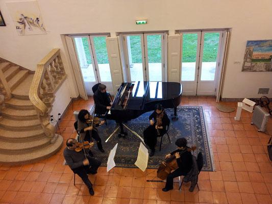 Sound rehearsal Palácio dos Aciprestes