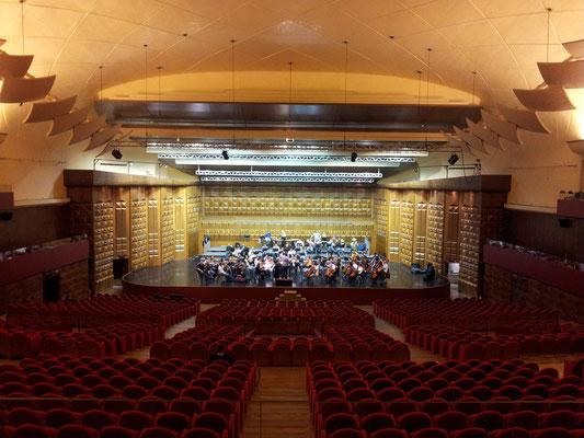 Dress rehearsal - Orchestra Sinfonica di Roma; Auditorium Conciliazione - Roma