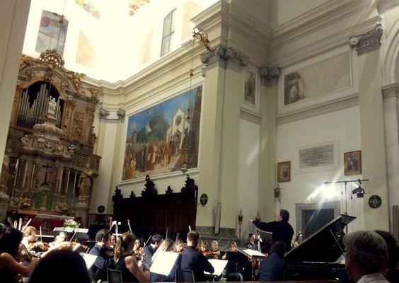 FVG Mitteleuropa Orchestra in Abbazia di San Gallo (Moggio Udinese)