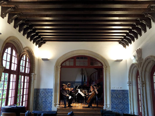 Sound rehearsal Museu da Música Portuguesa