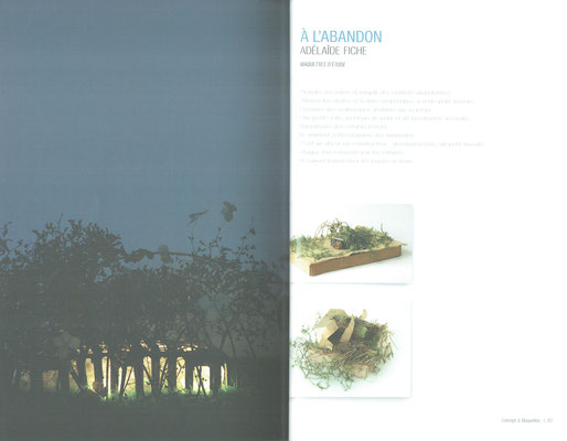 """""""De l'Ecriture à L'Architecture, maisons pour enfants en milieu hospitalier"""", édi: Monografik, 2008"""