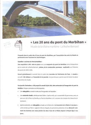 Les 20 ans du Pont du Morbihan