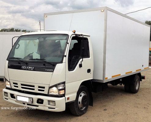 Фургоны ISUZU
