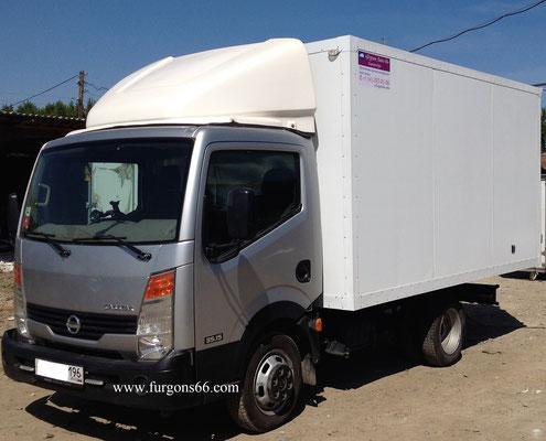 Фургоны Nissan Cabstar