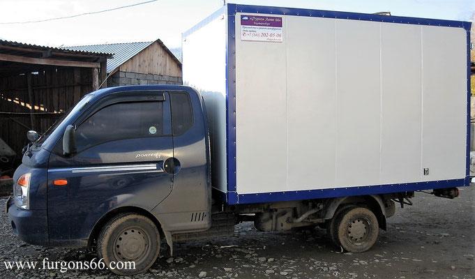 Фургоны Hyundai Porter