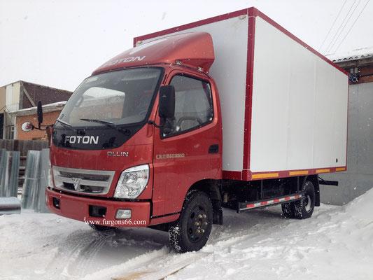 Фургоны Foton BJ1039