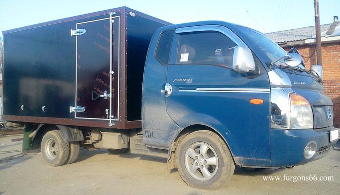 Фургоны Hyundai Porter 2