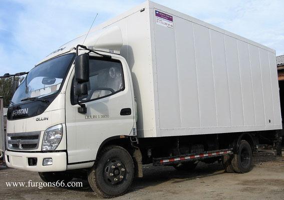 Фургоны Foton BJ1093
