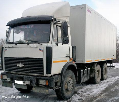 Фургоны МАЗ