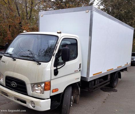 Фургоны Hyundai HD 78