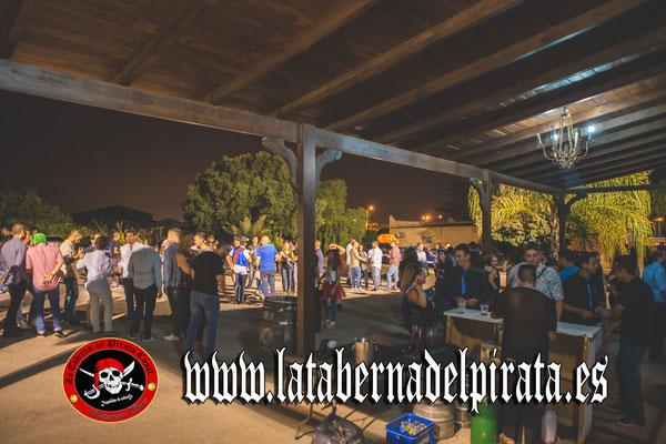 la taberna del pirata Chiclana (Cádiz)