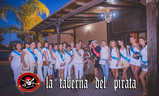 grupo de despedida de solteras en Chiclana