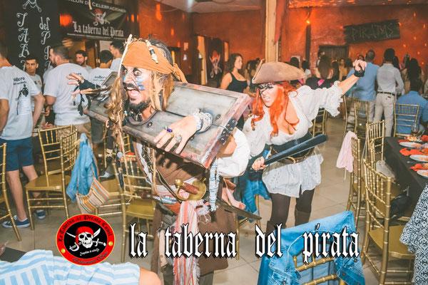 la taberna del pirata Chiclana animaciones