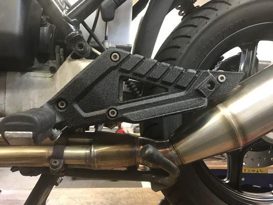 motorradteile sandgestrahlt bmw k100 fussrasten