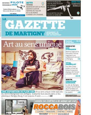 La Gazette 25 mai 2018