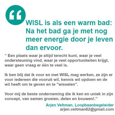 Arjen Veltman, Loopbaanbegeleider | arjen.veltman62@gmail.com