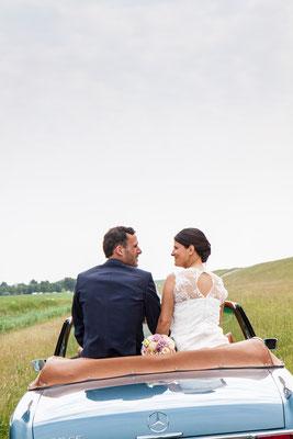 Hochzeitfotos Kummhörn Ostfriesland  Fotograf Norden Nicole Buczior