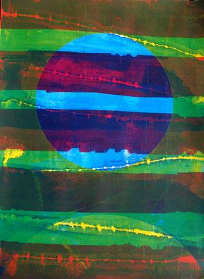 Art original, art contemporain, sérigraphie 76cm x56cm