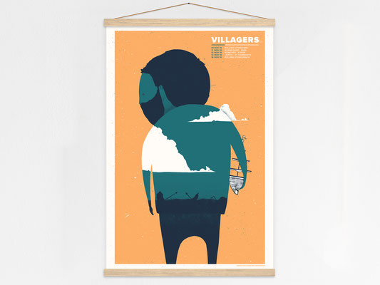 Villagers Poster Hanger