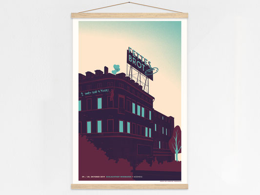 Fettes Brot Poster Hanger