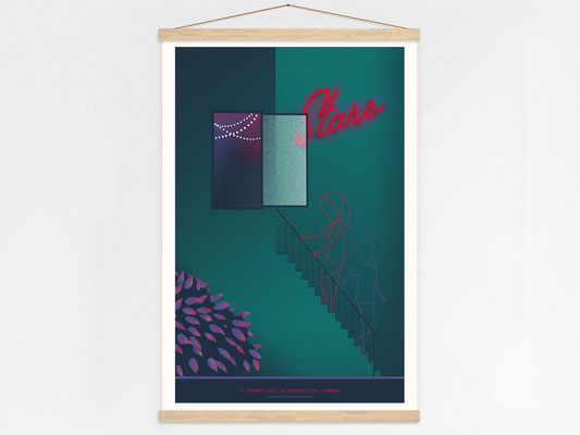 Stars Poster Hanger