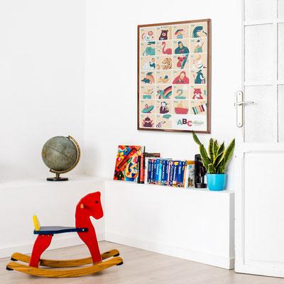 ABC poster walldecor