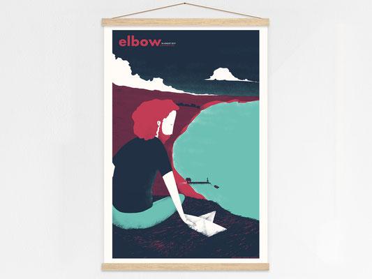 elbow poster hanger