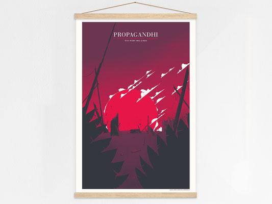Propagandhi poster hanger