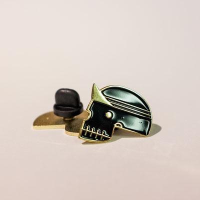 bronze pin