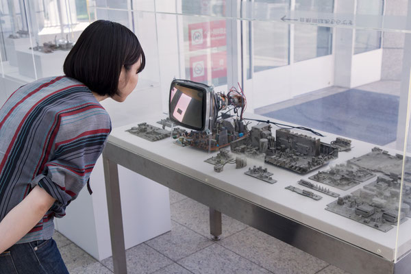 「忘れられた街」2 山田裕介 2015年 ミクストメディア