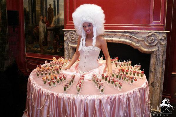 Buck Models Table dress, 2012