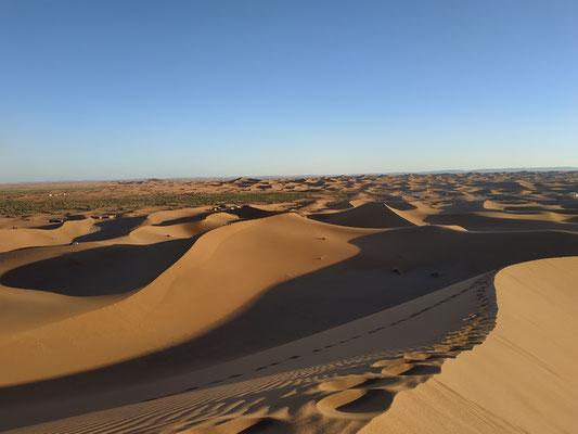 la grandes dunas de Chegaga