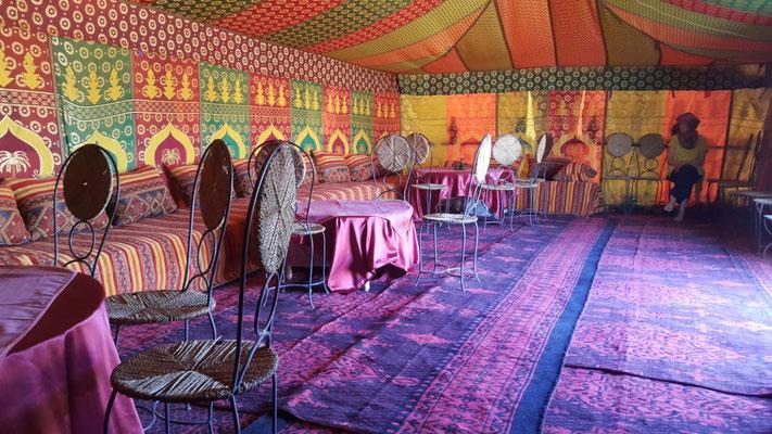 Jaima salon marocain salle à manger