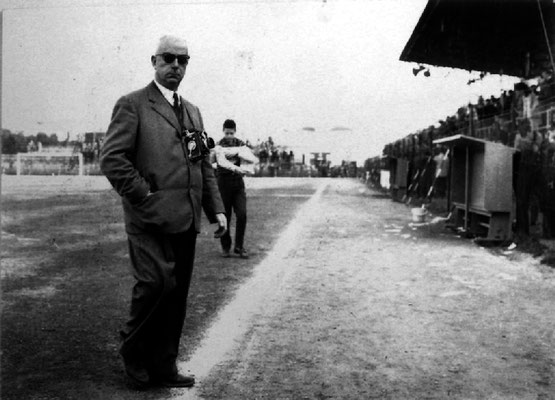 Carlo Baffoni, il fotografo della Samb per antonomasia - cortesia collez. Pino Perotti