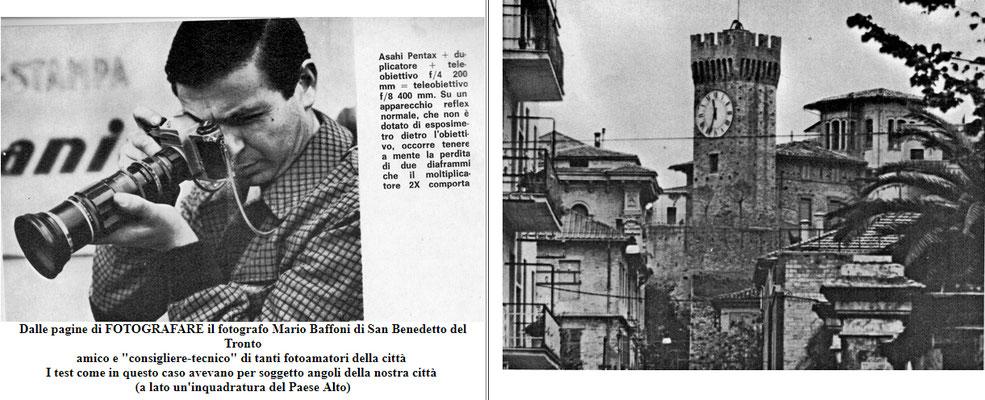 Mario Baffoni sulle pagine di Fotografare