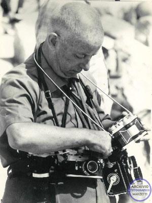 Carlo con le sue fide... Leica, Widelux e Rolleiflex